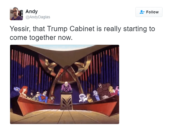 Trump Cabinet Is Coming