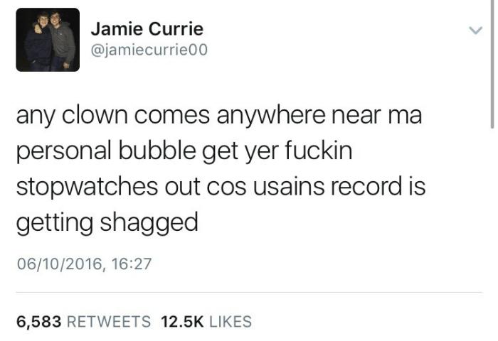 Usain Record