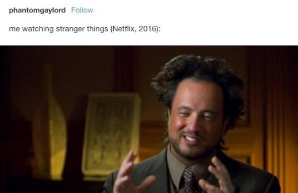 Watching Stranger Things
