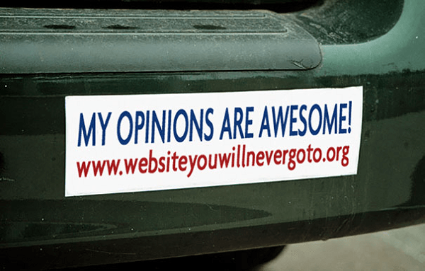 Where To Find Opinions
