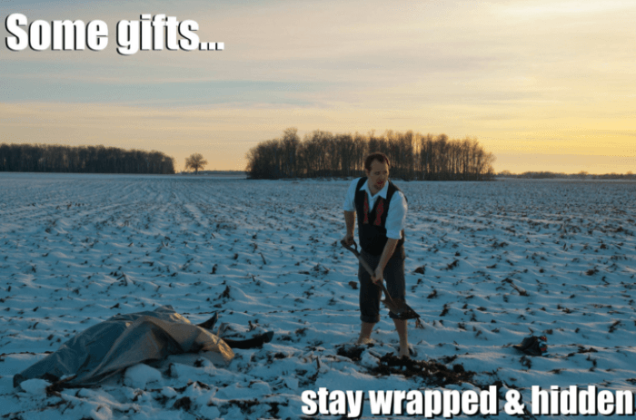 Wrapped And Hidden