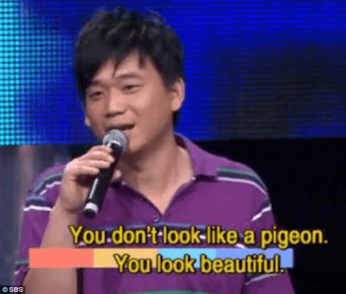 You Look Like A Pigeon