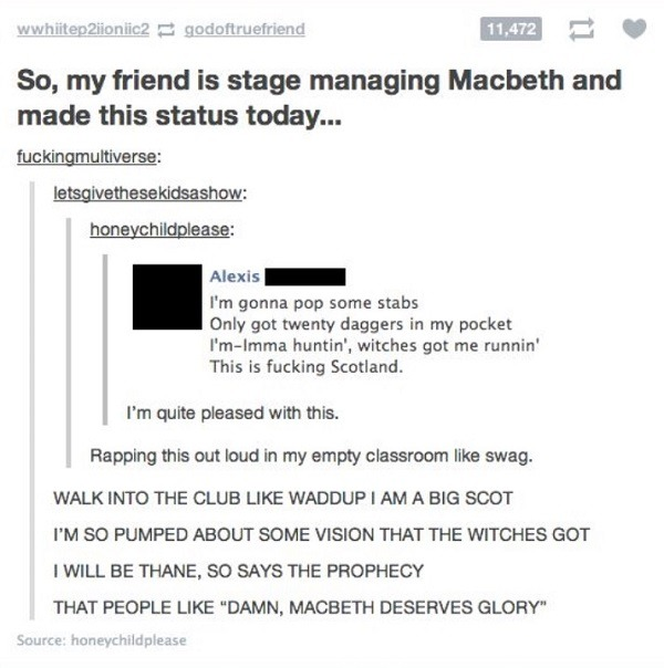 Macbeth Mackelmore