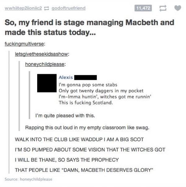 Macbeth Mackelmore
