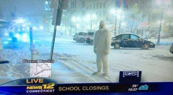 Abominable Snowman School Closings