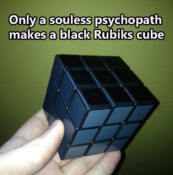 Black Rubikscube