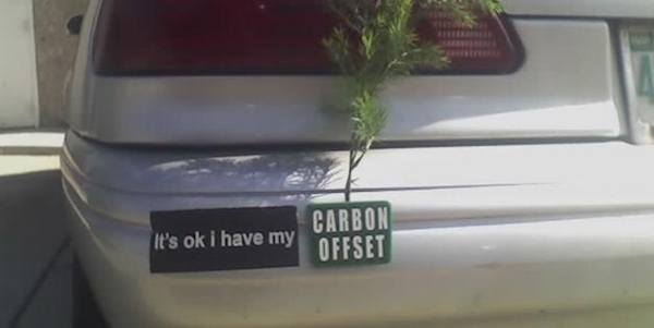 Carbon Funny Bumper Stickers