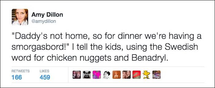 Hilarious Tweets About Parenting