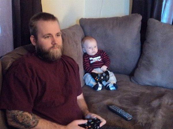 Dad Son Xbox