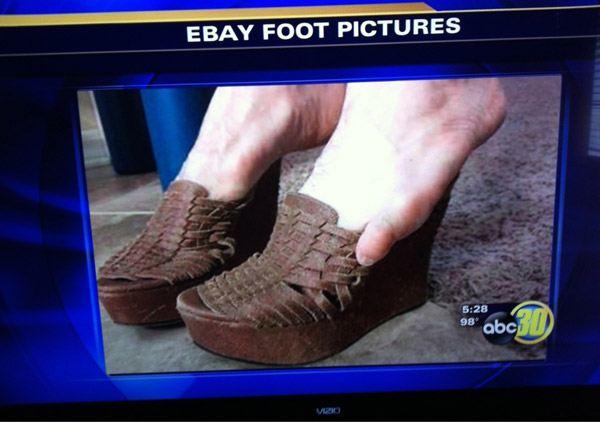 Ebay Foot Pics