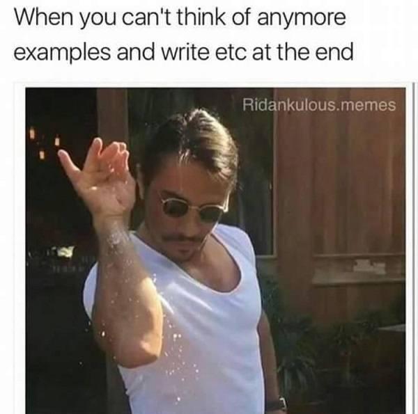 Examples Etc