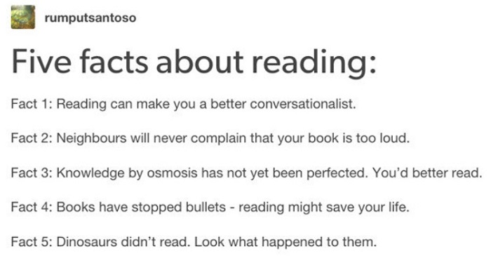 Facts About Reading
