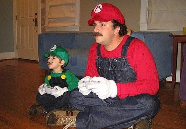 Father Son Mario Lugi