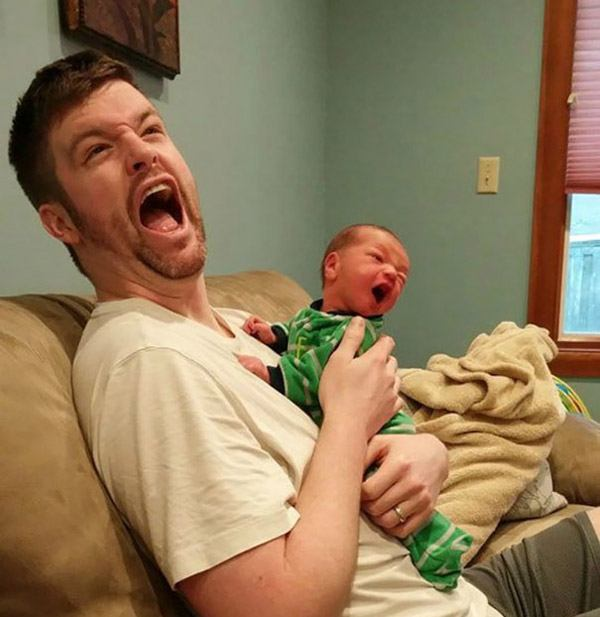 Father Son Yelling