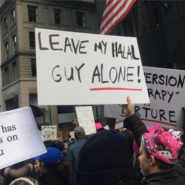 Funniest Signs Womens March