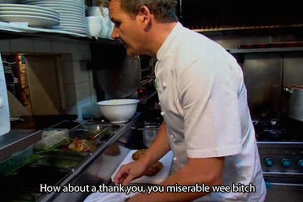 Funny Gordon Ramsay Insults