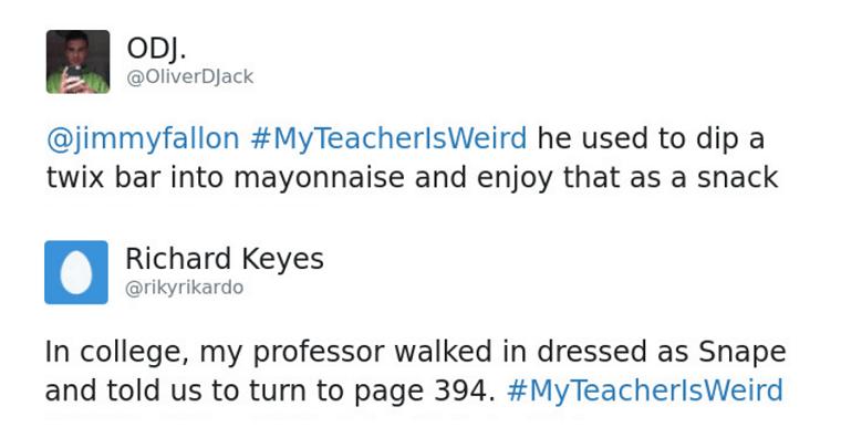 Funny Weird Teachers