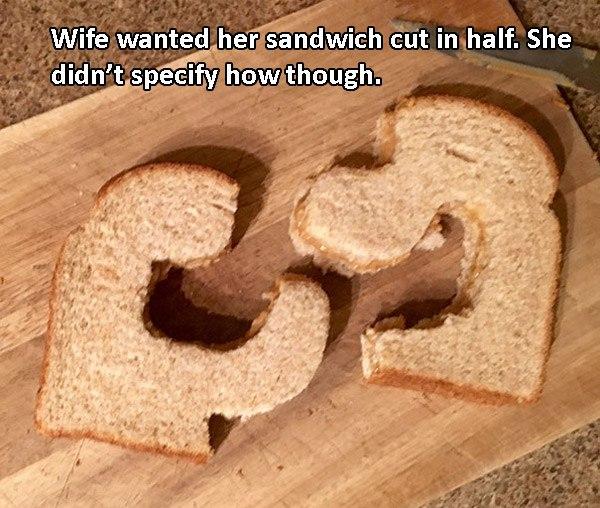 Half Sandwich Smartass