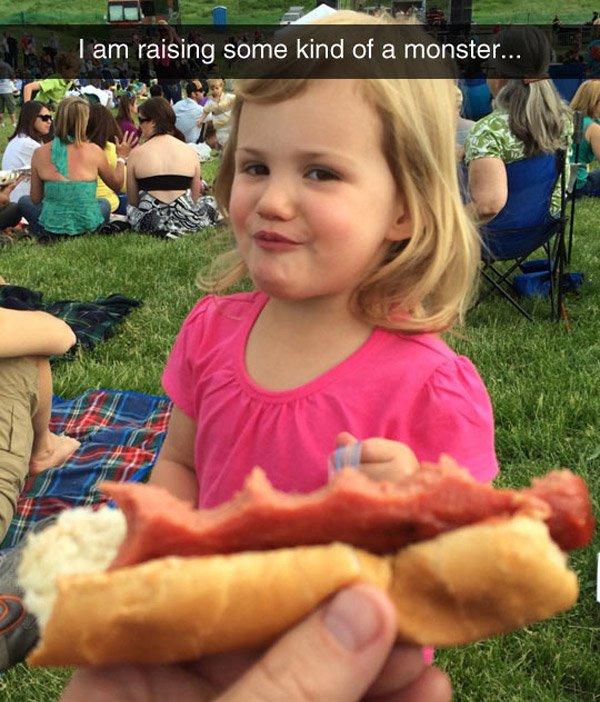 Hot Dog Monster