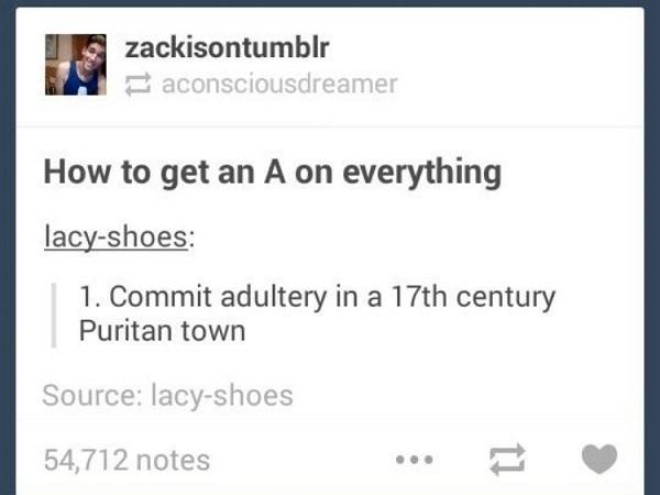 How To Get An A
