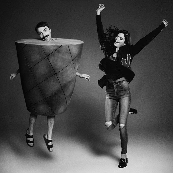 Kendall Jenner Photoshops Jumping For Joy