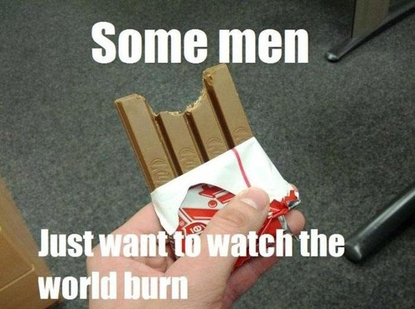 Kitkat World Burn