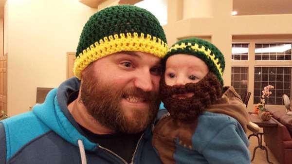 Like Father Like Son Beards