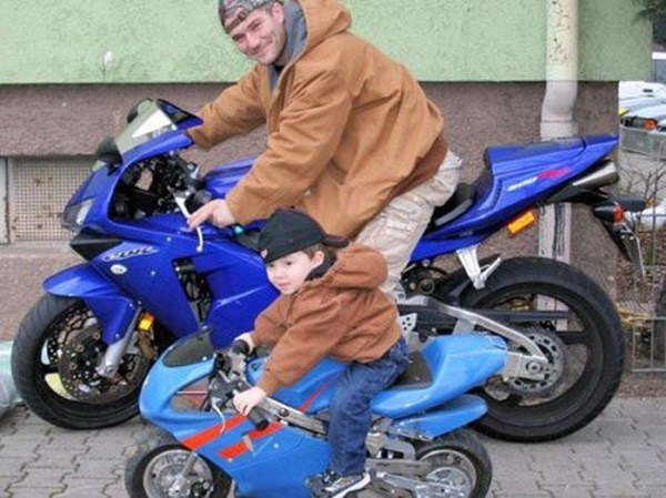 Like Father Like Son Motorcycles