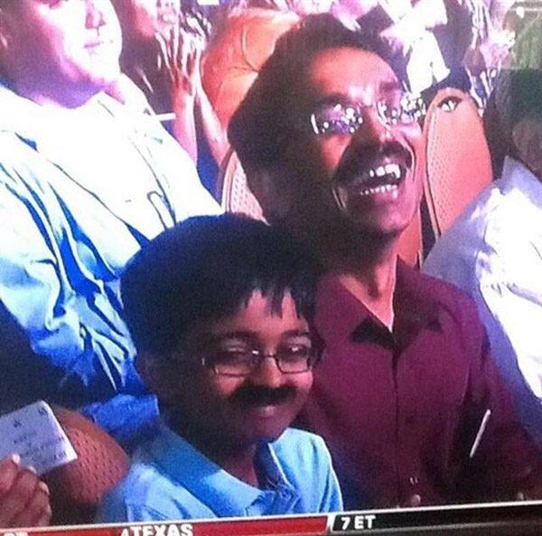Like Father Like Son Moustache