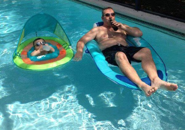 Like Father Like Son_pool Chill
