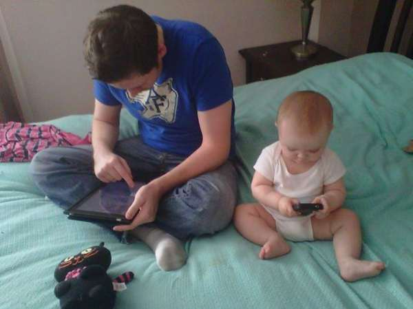 Like Father Son Ipad