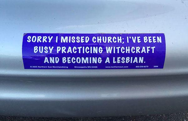Missing Church