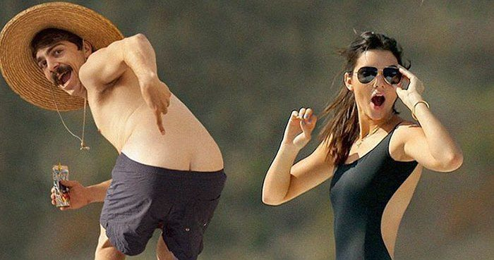 Mooning With Kendall Jenner