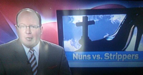 Nuns Vs Strippers