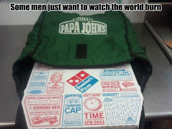 Papa Johns Dominos