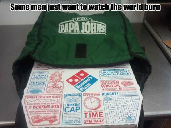 Papa Johns Dominos
