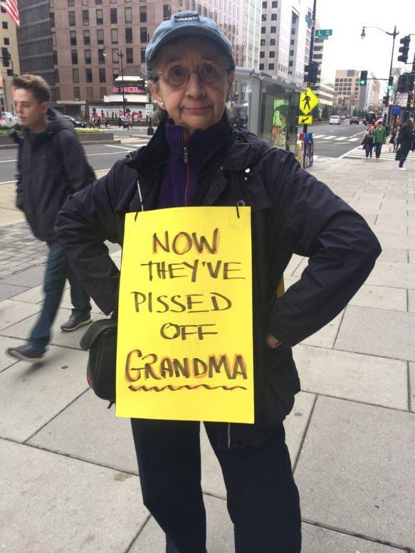 Pissed Off Grandma