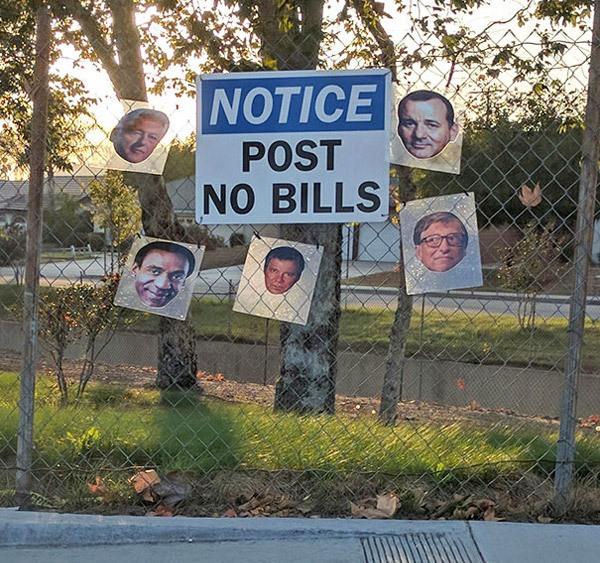 Post No Bills Smartass