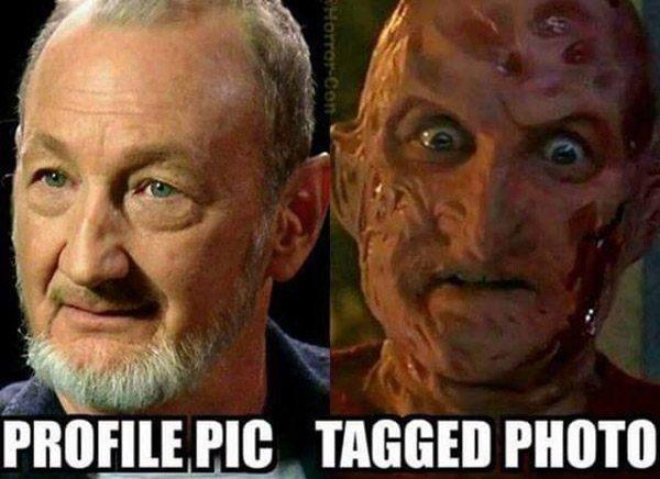 Profile Pic Vs Tagged Freddy