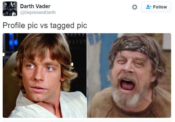 Profile V Tagged Luke Skywalker