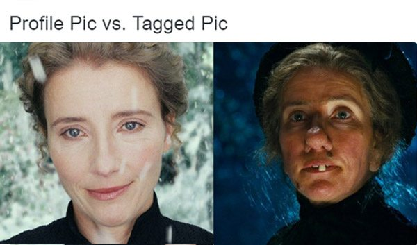 Profile Vs Tagged Fails