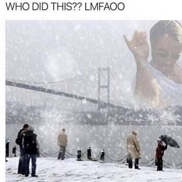 Saltbae Snow