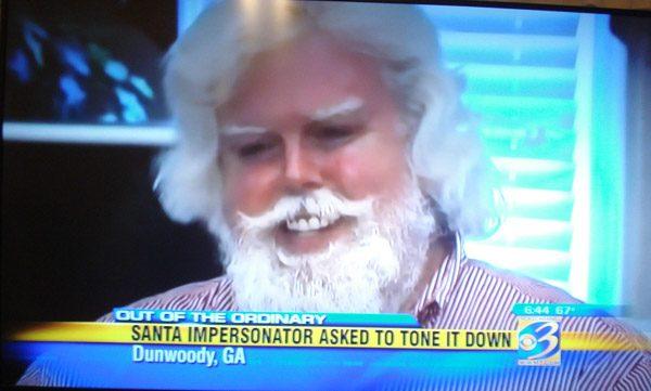 Santa Impersonator