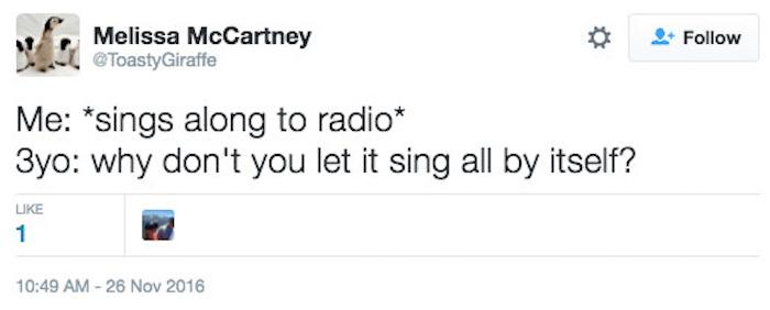 Singing To Radio