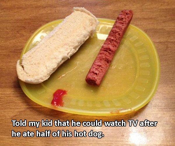 Smart Ass Hot Dog Kid