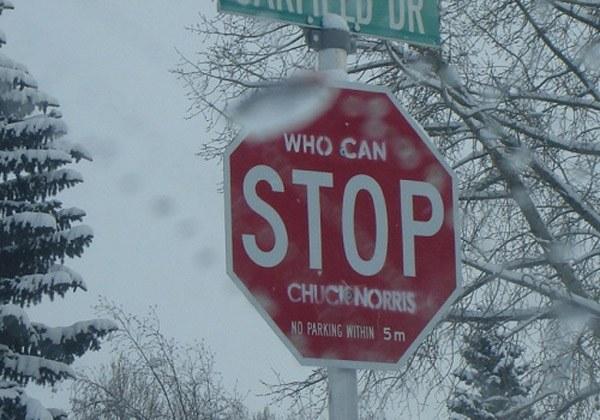 Stop Chuck Norris