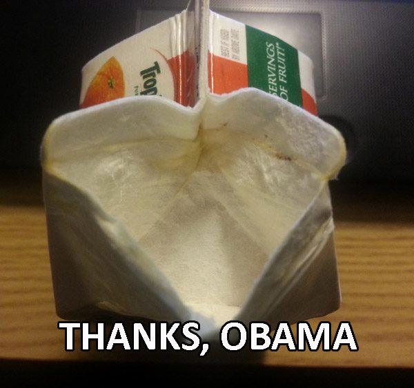 Thanks Obama Oj