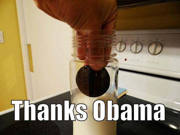 Thanks Obama Memes Oreo