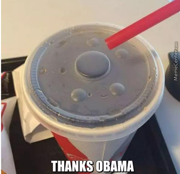 Thanks Obama Memes Straw Fail
