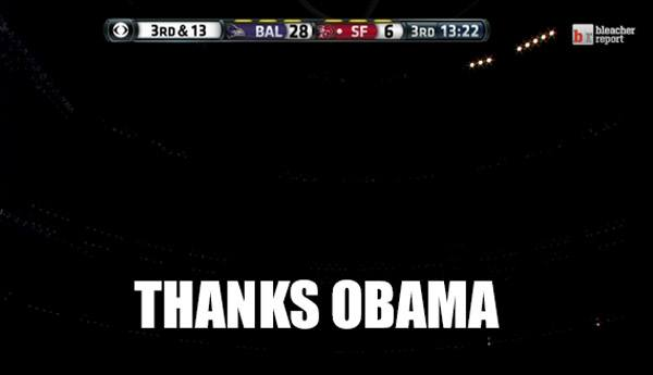 Thanks Obama Superbowl